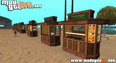 Kiosks do GTA V para GTA SA