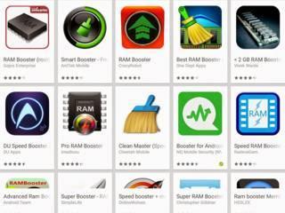 Pengoptimalan RAM android - Jenis aplikasi android yang tidak perlu