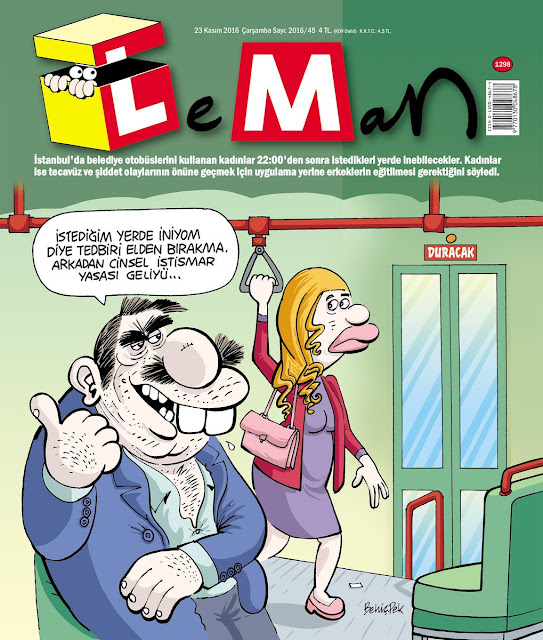 Leman Dergisi | 23 Kasım 2016 Kapak Karikatürü