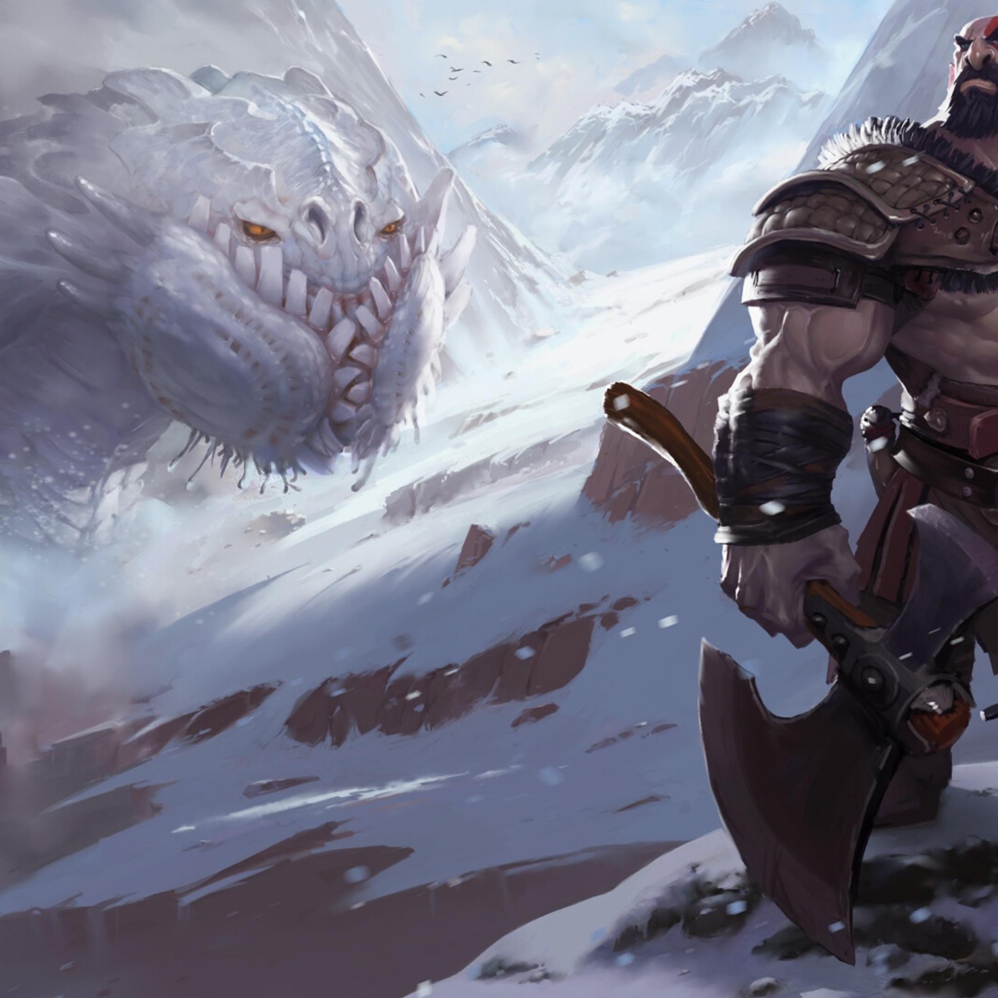 God Of War 4 Fanart Wallpaper