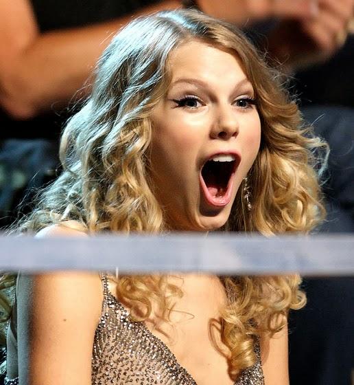 Taylor Swift surprised randommusings.filminspector.com