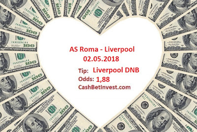 AS Roma - Liverpool 02.05.2018 - Cash Bet Invest