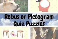 Rebus or Pictogram Quiz Puzzles with answers
