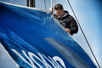 Team AkzoNobe et Simeon Tienpont sur la Volvo Ocean Race 2017