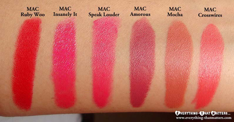 Connu My MAC Lipstick CollectionEverything-That Matters | Everything  RQ45