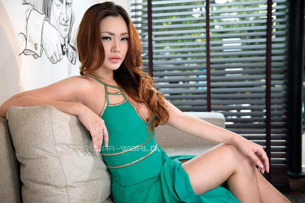 WikiGIRLS: Cia Ang for Popular World Magazine February 2014