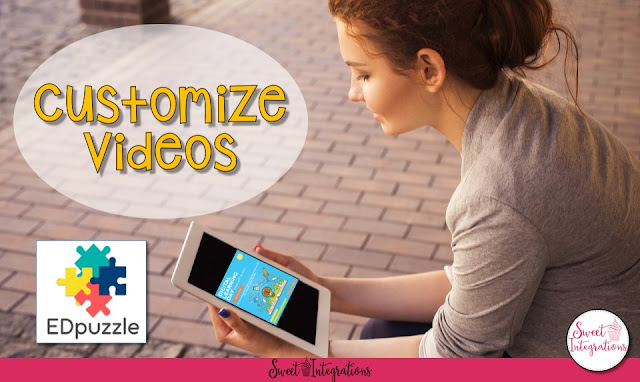Celebrate Digital Learning Day (or any day where you want to incorporate technology) by using EdPuzzle in the classroom. This post will show you how to find and customize great videos to use with your primary, upper elementary, and middle school students. You'll be teaching digital citizenship in no time! Click through to see example videos and get started today! {Kindergarten, 1st, 2nd, 3rd, 4th, 5th, 6th, and 7th grade classroom or homeschool, computers, lesson plan, unit study}