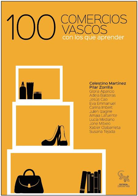 portada del libro 100 comercios vascos con los que aprender