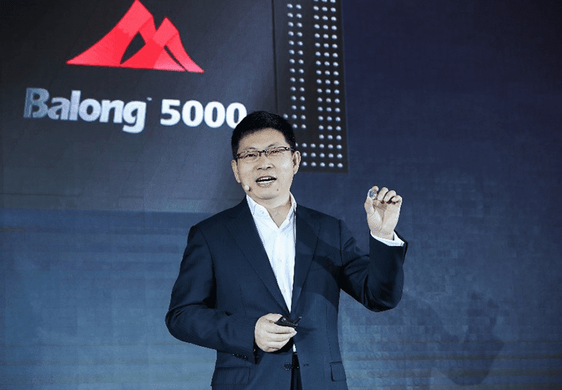 Balong 5000 is Huawei;s 5G multi-mode chip
