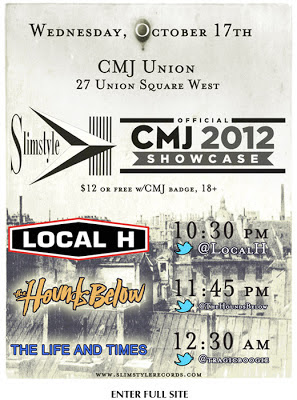 slimstyle CMJ poster