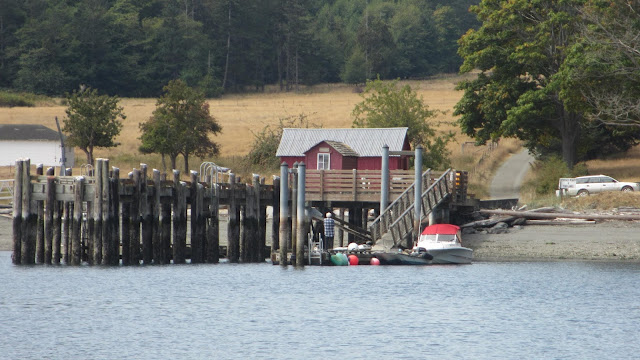 Stuart Island county dock