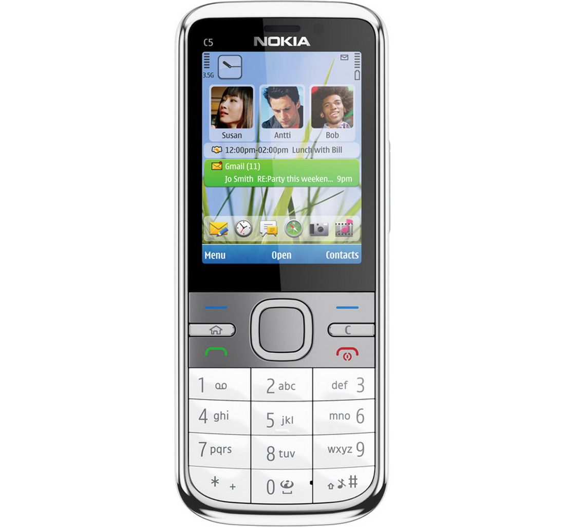 The Best Mobiles @ The Best Price: Nokia C5-00 White Buy ...