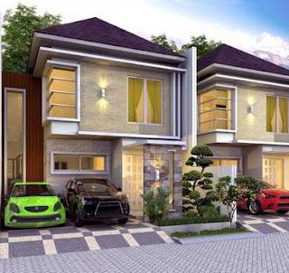 Contoh Desain Rumah Minimalis 2 Lantai Terbaru