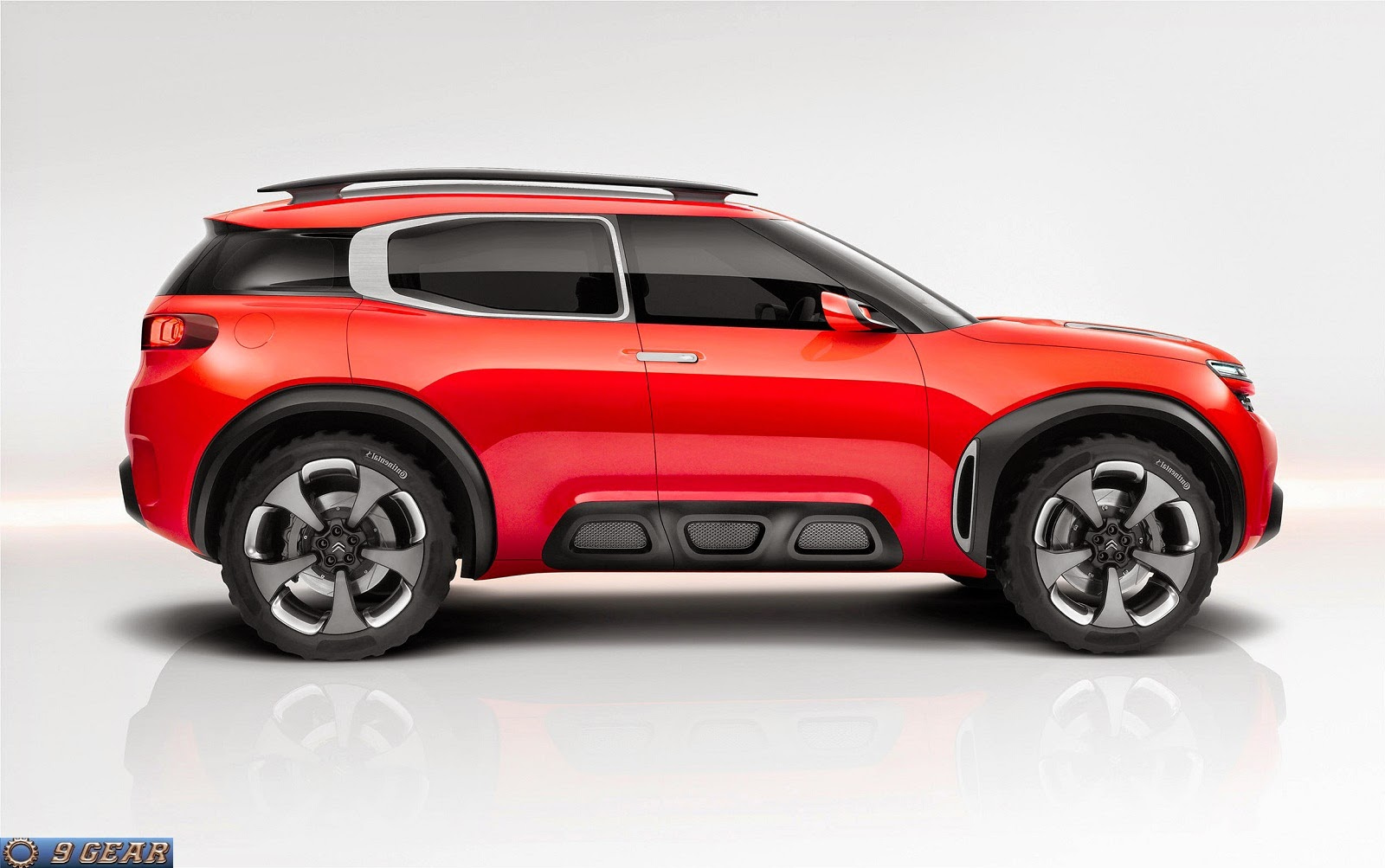 new citroen aircross suv concept revealed car reviews new car pictures for 2018 2019. Black Bedroom Furniture Sets. Home Design Ideas