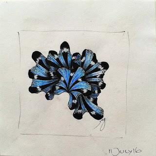 DIVA Challenge #322 with Patterns: Aquafleur