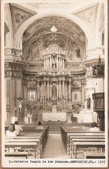 Monterrey Mxico Templo De Dolores