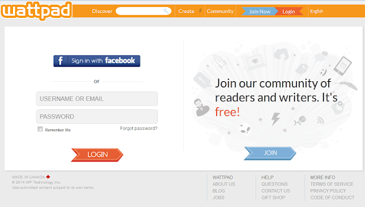 How to Post your First Write-Up in Wattpad - Geeky Juan