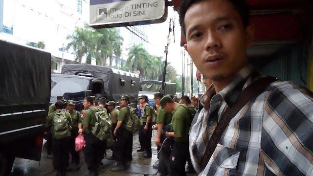 Geger! Pasukan Sipit Perawakan Militer, Apakah Mereka Disiapkan untuk Melawan Demo Anti-Ahok 4 November?