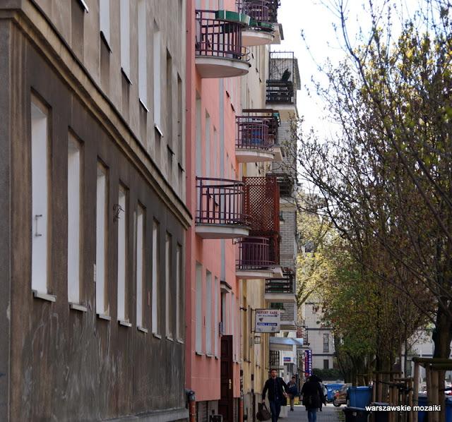 Warszawa Warsaw Mokotów ulice zabudowa pierzeja kamienice