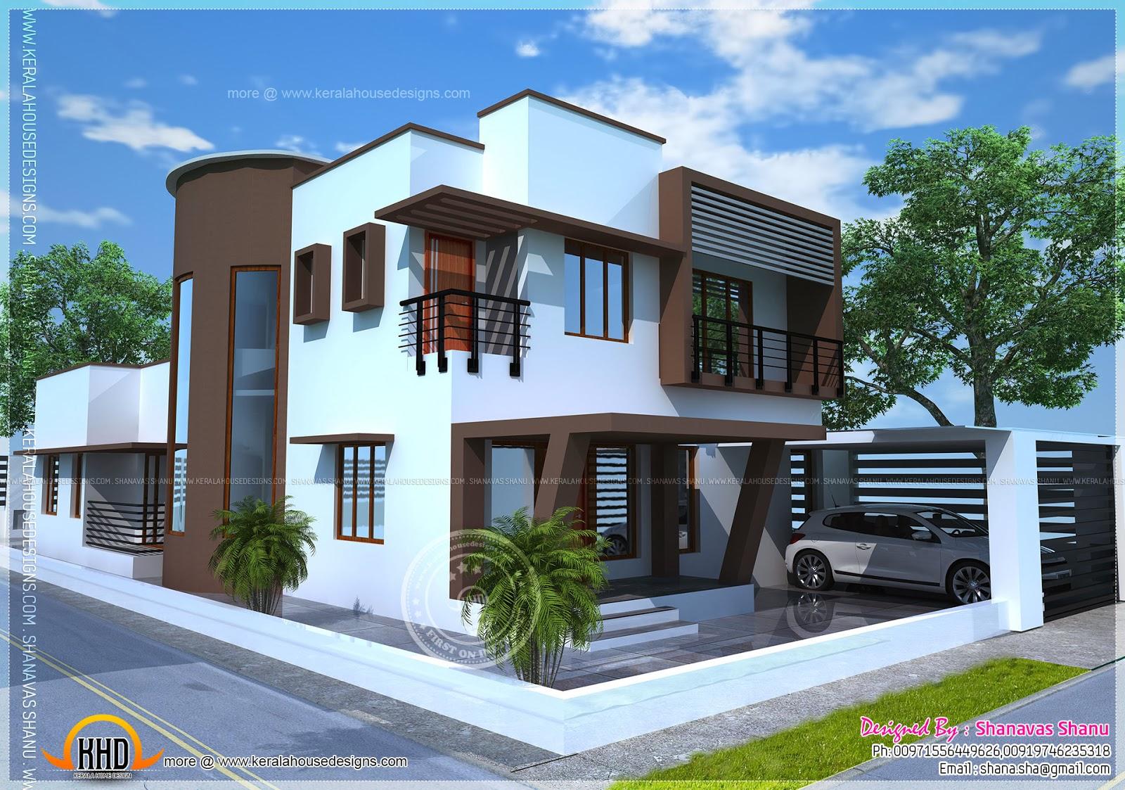 Beautiful Contemporary Home Plan