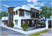 Beautiful Contemporary Home Plan - Kerala Design And