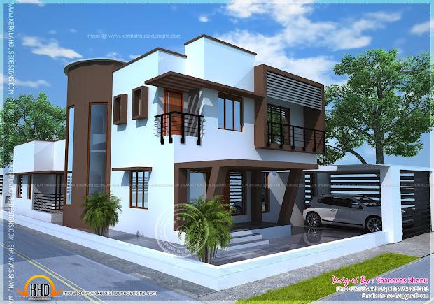 Beautiful Contemporary Home Plan - Kerala Design And
