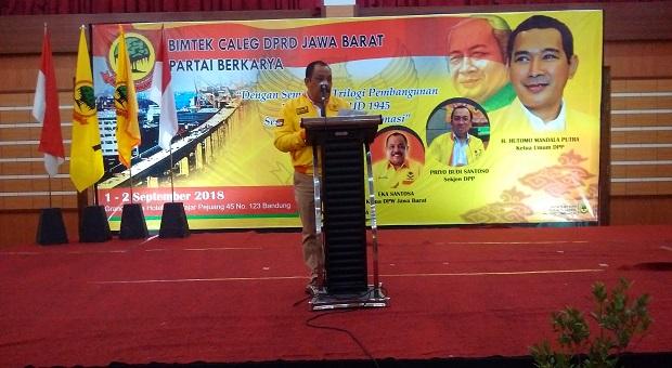 Caleg Berkarya Ujung Tombak Partai Dalam Meraih Suara di Pemilu 2019