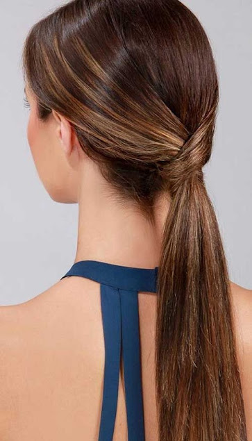 Ponytail I Best interview hairstyles ideas for long hair for girls