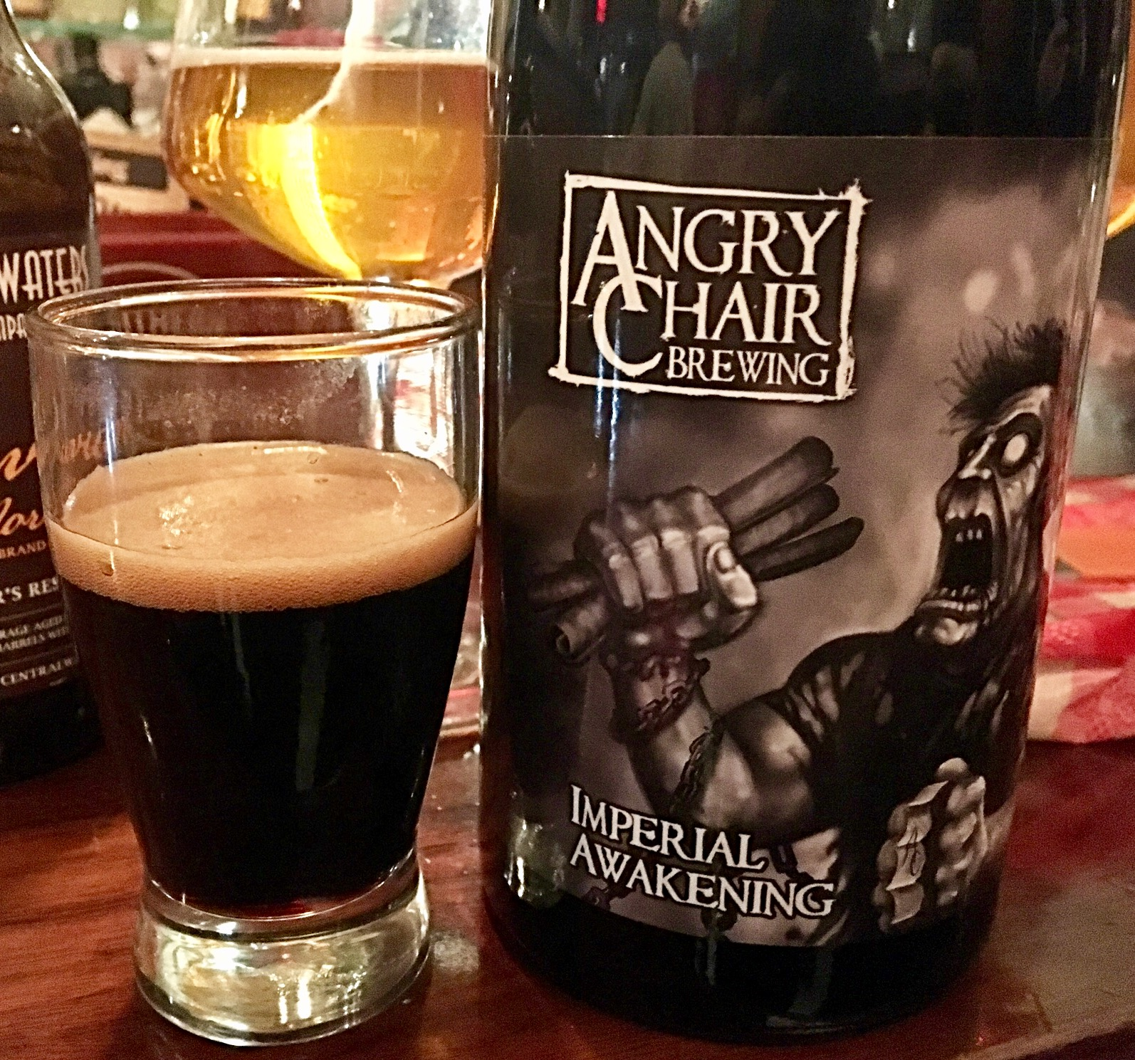 New Brew Friday Angry Chair Imperial Awakening