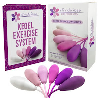 Intimate Rose Kegel Exercise Weights - Beginners And Advanced Users