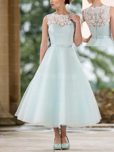 """8 Classic Dresses for Prom"" Blog Post/Article by @TheGracefulMist (www.TheGracefulMist.com) - Lace Tea Dress"