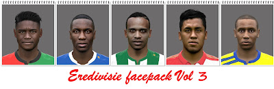 Eredivisie Facepack Vol3
