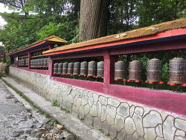 Buddhist Temple, Gangtok