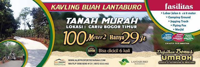 Apa betul Kavling Buah Lantaburro Tanjungsari Penipuan oleh Lantaburro Propertindo?