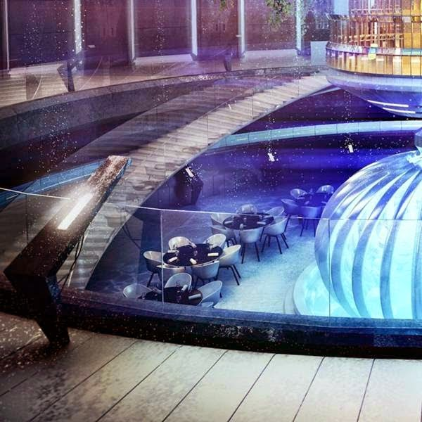 A Hotel Under Water In Dubai 7