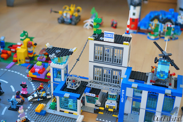 Polizeistation Lego