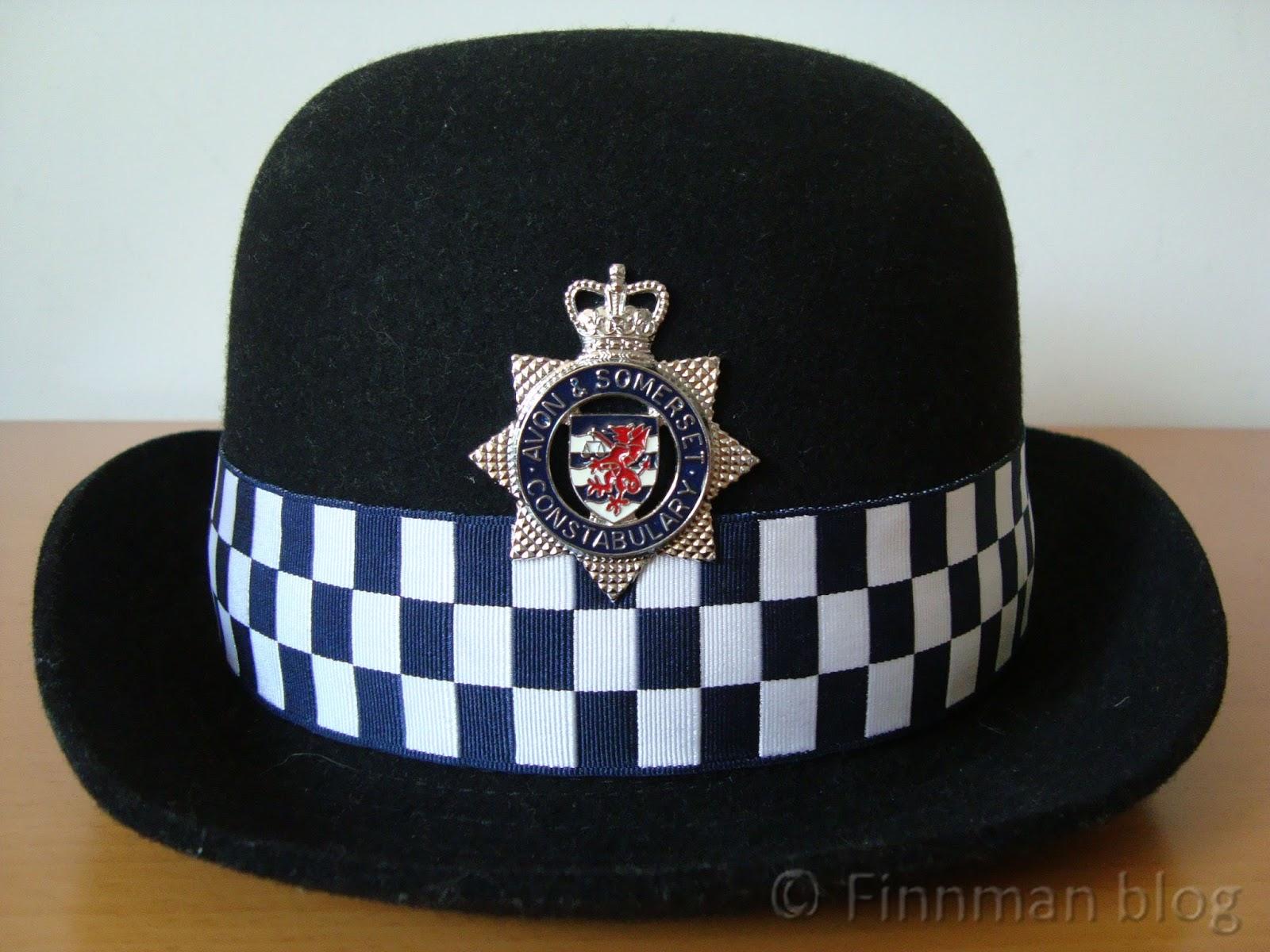 Avon Amp Somerset Constabulary Headgear Peaked Caps Hats