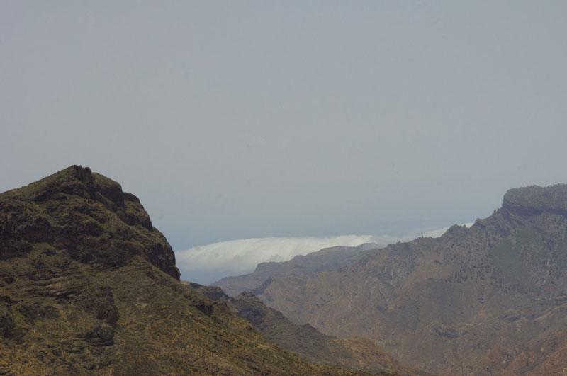 góry, Gran Canaria, widok, turystyka