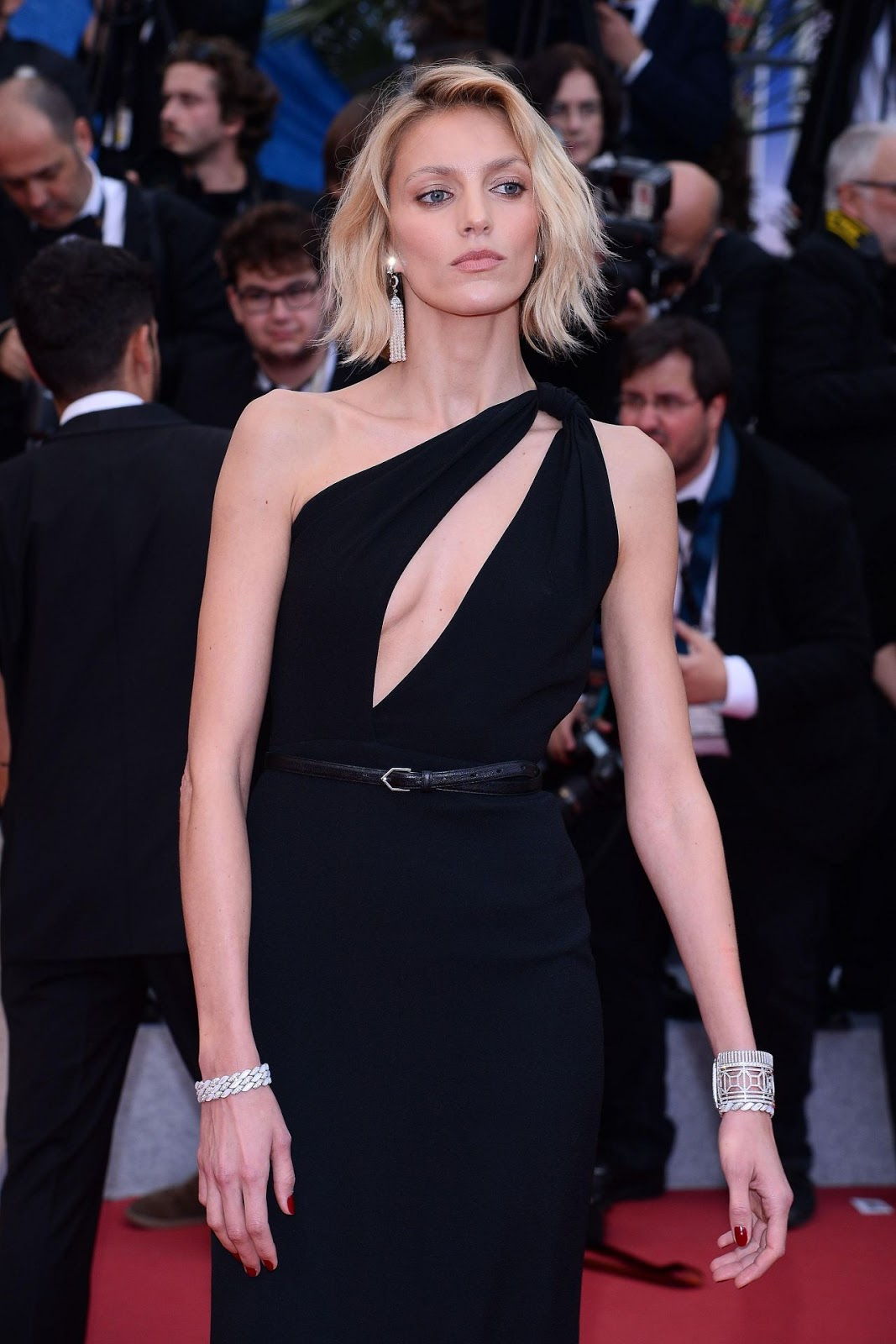 "Anja Rubik – ""A Hidden Life"" Red Carpet at Cannes Film Festival"