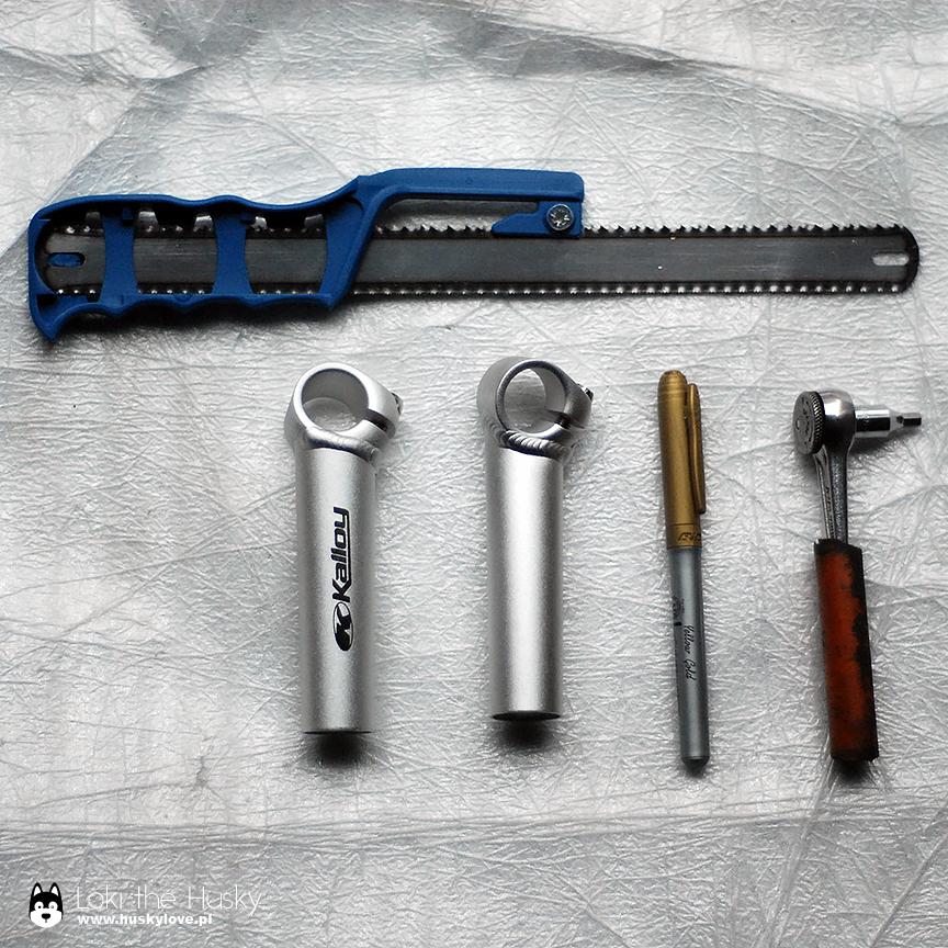 Potrzebne narzędzia i materiały