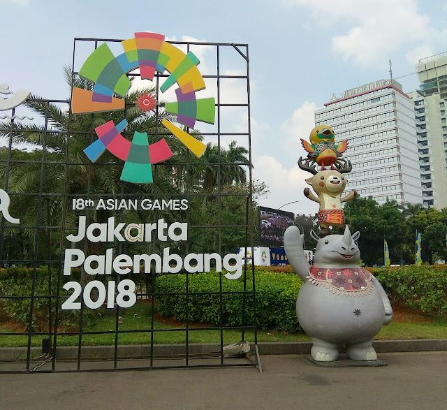 Euforia menyambut pesta akbar olahraga Asian Games 2018