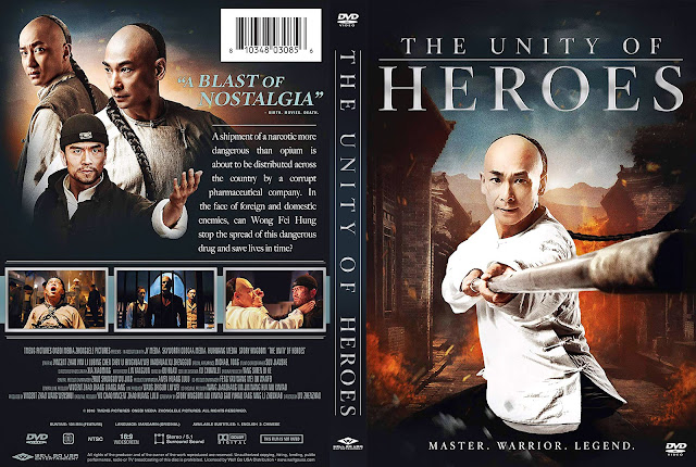 The Unity of Heroes DVD Cover