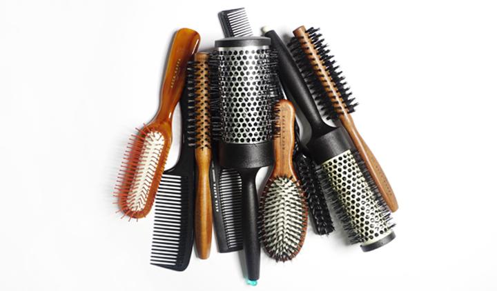 Keburukan guna jenis sikat rambut yang tidak betul