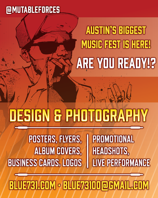 Design & photography services for SXSW!