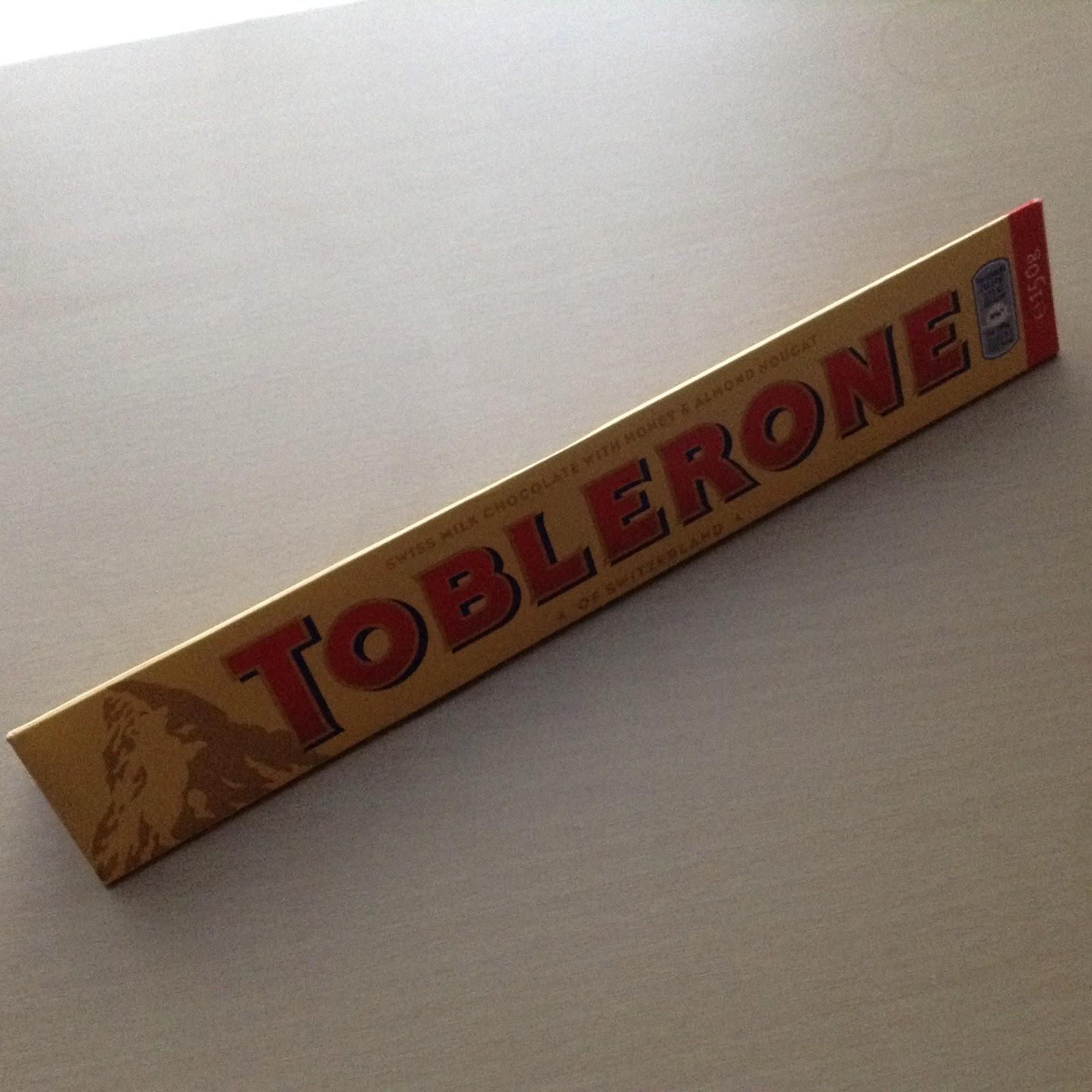 Kev's Snack Reviews: Toblerone Milk Chocolate Review: new shape ...