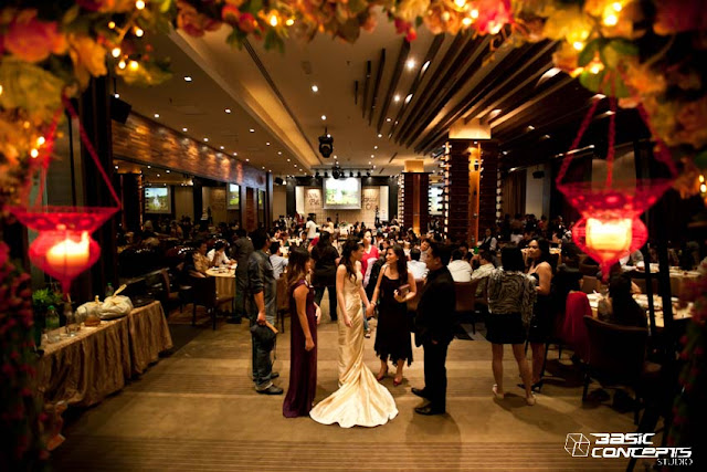 chinese restaurant wedding dinner