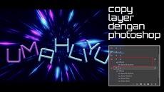Tips dan Trik Photoshop : Cara Menyalin Efek Layer
