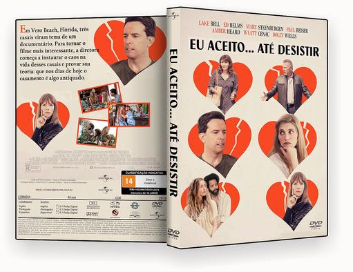 Eu Aceito Até Desistir 2018 Dublado DVD-R AUTORADO – CAPA DVD