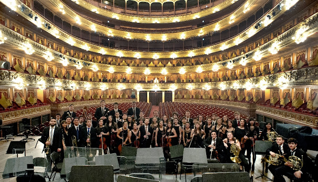 La Orquesta Académica del Instituto Superior de Arte del Teatro Colón actuará representando a la Argentina en el Festival de Trancoso