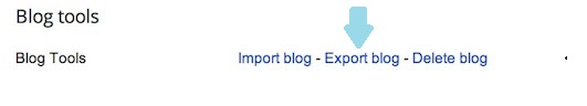 Backup for blog